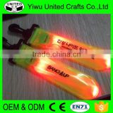 2016 promotional gift plastic custom printing clip on safety light