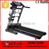 H0166 Multi-function Pro Motorized Electric Folding Treadmill Running Machine