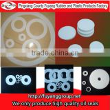 PTFE /TEFLON flat washer in clear color