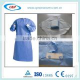 Gown Surgical Extra Large SMS Blue