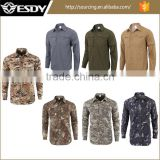 9-Colors Hunting ESDY Quick-Drying Men's Outdoor Breathable Removable Combat Tactical Shirts