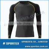 Comfortable body cut Sportex compression gear, compression top, compression clothing OEM#OM1301