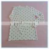 Children Gilrs Cotton Underwear Long Johns, High Quality Dot Kids Pajamas Clothes for Child
