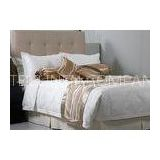 King Size Jacquard Luxury Hotel Bedding Sets / Duvet Cover Set Soft and Breathable