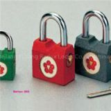 Side Opening Colored Iron Padlock