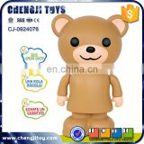 Hot sale plastic kids educational learning bear repeat talking toy