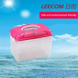 Leecom Hot Sale Plastic Tank Cheap Colorful Plastic Fish Bowls Aquarium Tank