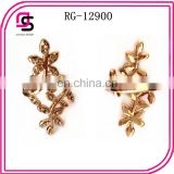 Fashion 2014 hotselling alloy ring with rhinestone ,gold jewelry
