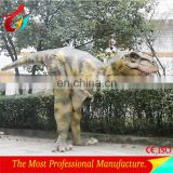 Realistic animatronic dinosaur costume for sale