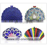 Crystal evening clutch bags/stone cluth bags/ladies clutch bags purse /wedding cluth purse