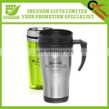 Customized Logo Promotional Stainless Steel Travel Mug