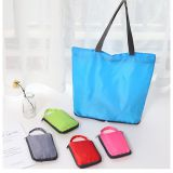 Advertising Promotion Bag Foldabe Polyester Shopping Tote Bag
