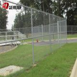 9 Gauge Aluminum Coated Steel Chain Link Fence Privacy Fabric Used in Commercial residential