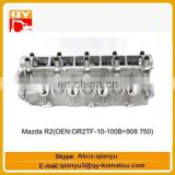 excavator engine parts Mazda R2(OEN OR2TF-10-100B=908750) cylinder head