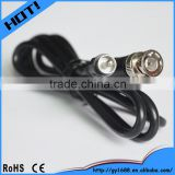 rf type bnc rca audio jack cable,av extension cable 5m
