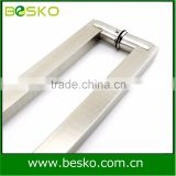 Export stainless steel shower door handle for glass and ss door long pull handle