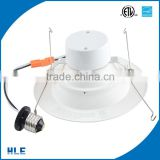 Promotion wholesale led downlight cut out 75mm color rendering index 90RA 8w led downlight for dimmable