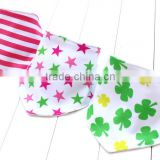 1Set/3Pcs Baby Girls Boys Kids Triangle Baby Bandana Bibs
