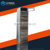 New Embedded Wall Type Metal Mailbox Single Row Multi-doors Vertical Post Mounted Box for Letters