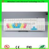Popular Good Touch Feeling USB RGB Backlit Wired Mechanical Keyboard