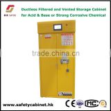 Floor standing filtering safety Cabinet with acticarbon filters