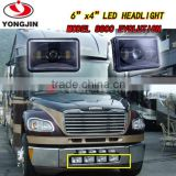 For Trucks 4x4 Jeep offroad 88W led headlights Wholesale product square led headlights Sealed Beam H4 headlight