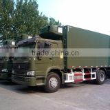 Utility Vehicle!! Sinotruk HOWO Truck Refrigeration Refrigerated Cold Room Van Truck