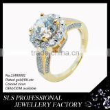 Wholesale products mold jewelry 925 sterling silver jewelry engagement ring buy jewelry in China zircon ring