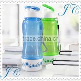 Hot sale plastic space cup, popular plastic water cup, plastic water bottle for promotion