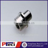 PG9 IP68 nickel plated stainless steel Automotive brass connector screw