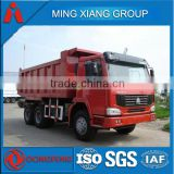 HOWO 6X4 tipper truck strong tipper body with hydraulic system