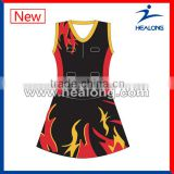 2014 full sublimated custom netball dress
