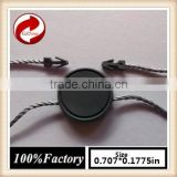 china quality string seal tag, hang tag string, garment plastic seal tag silver seal tag cotton ball light string