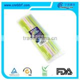 Low price color changing straw with a bag