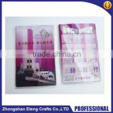Best popular customized printing soft pvc card holder,cheap custom printed plastic card holder