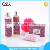 BBC lady Gift Sets Suit 002 Famous brand women natural bath gift sets bath salt and shampoo manufacturer