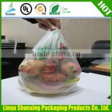 Plastic tshirt bags with customized logo
