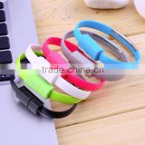 Micro USB Cable Bracelet Data Charging Line Wristband For Android Cellphone