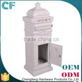 Produce China Factory Lion Ornament White Modern Japanese Mailbox