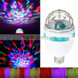 Fullbell glow led party supplies Color Changing Disco Dj Stage RGB Crystal Magic Ball KTV light led party