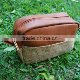 Free shipping via FedEx, Fashion cork bag Eco-friendly PU cork leather cosmetics bags Wood bags DOMIL 1048135