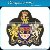 Bullion Badges Handmade Embroidered Bullion Crest PS-142