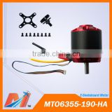 Maytech 6355 190KV electric longboard kit skateboard hall sensor motor