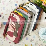 "2013 Newest Silicone Bowknot Wallet Fancy Luxury Cell Phone Cases for Sumsung 9300/ 9500/ 7100 ""11"""