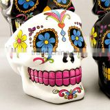 2016 hand painting Hot Wishing Tree Crystal Glass Ashtray skull shaped design unique deisgn crystal