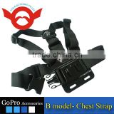 A model: chest body strap for GoPro Hero 2/3/3+/4/4 Session shape the same as original one