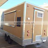 Mobile Kitchen Trailer with Solar power system