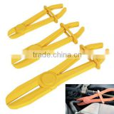 3 Piece Flexible Hose Line Clamp Off Pliers Tool Set Brake-Fuel-Water Line