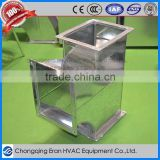 Galvanized steel corner connector air conditioner hot air duct