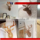 Home and office decoration Wall Hangings Carving Animal Head Wood craft